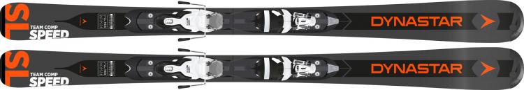 Juniorské lyže Dynastar Team Speed 130 - 150 BLK (XPRESS JR) + XPRESS JR 7 B83 Black White