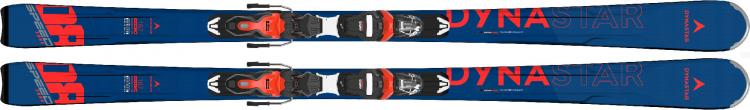 Lyže Dynastar Speed Zone 8 Ca + XPRESS 11 GW B83 RED BLACK