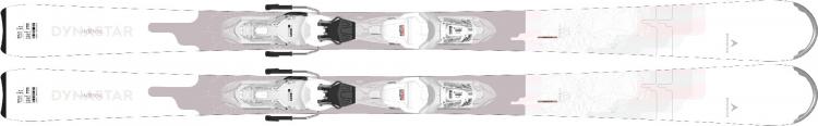 Lyže Dynastar Intense 10 Xpress + Xpress W 11 GW B83 white sparkle