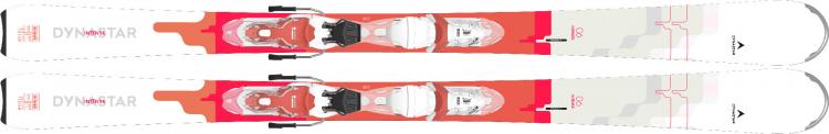 Lyže Dynastar Intense 6 Xpress + Xpress W 10 B83 white corail